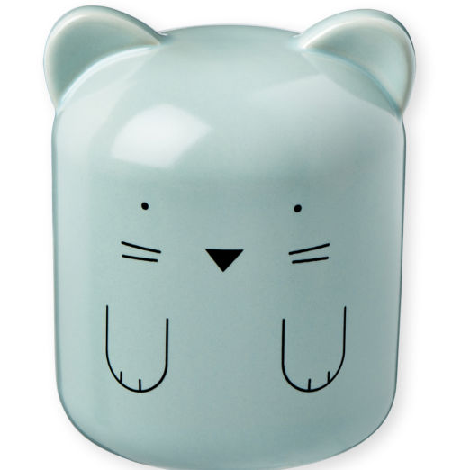 Tirelire en porcelaine Chat