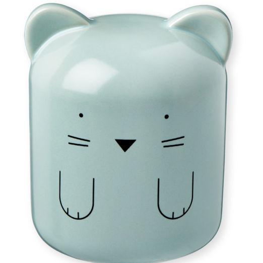 Tirelire en porcelaine Chat