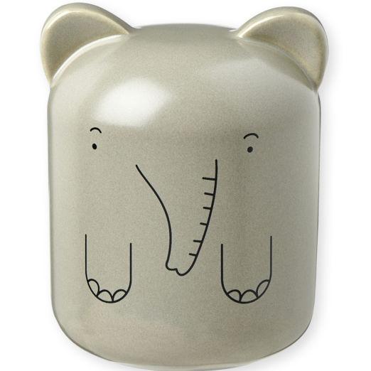 Tirelire en porcelaine Éléphant