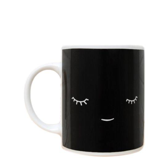 Mug en Porcelaine Créature - Noir