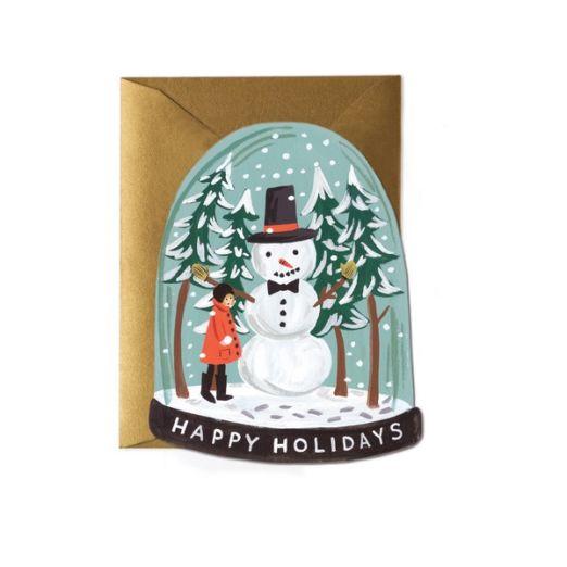 Carte double avec enveloppe - Holidays