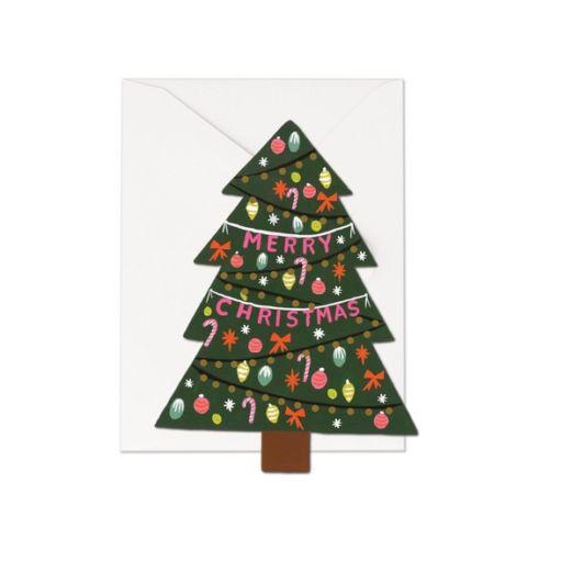 Carte double avec enveloppe - Tree