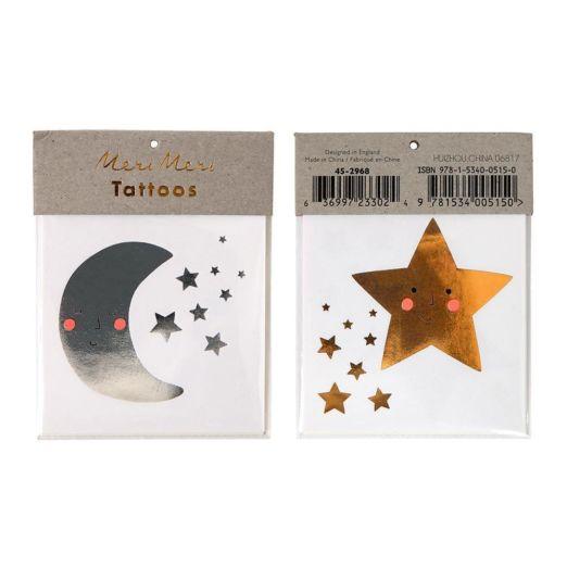 Tatouages Étoile Et Lune