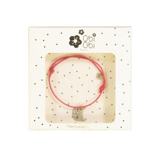 bracelet chat rouge