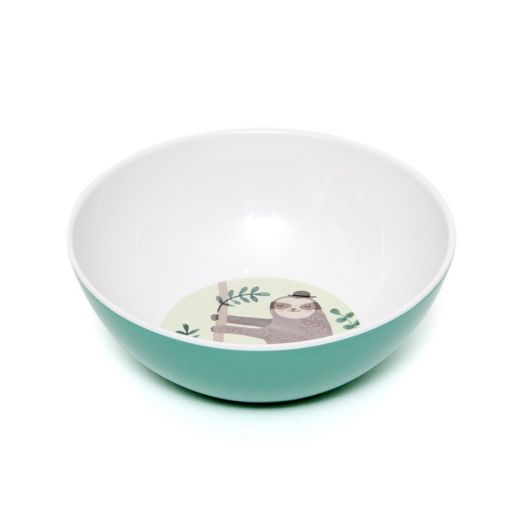 melamine_bowl_sloth_green_mcb12